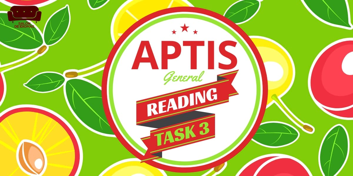 Aptis General Reading Part 3